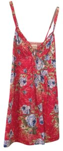 Abercrombie & Fitch short dress Coral floral on Tradesy
