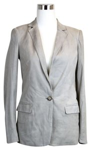 Gucci Suede Jacket Light Gray Blazer