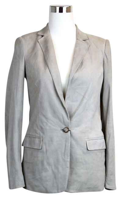 Preload https://img-static.tradesy.com/item/19411507/gucci-light-gray-new-women-s-suede-jacket-44-340441-9601-blazer-size-8-m-0-1-650-650.jpg