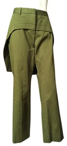 Givenchy Boot Cut Pants Green