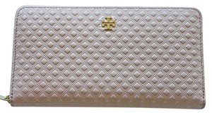 Tory Burch New With Tags Tory Burch Marion Embossed Zipper Wallet