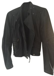Kenneth Cole Leather Motorcycle Jacket