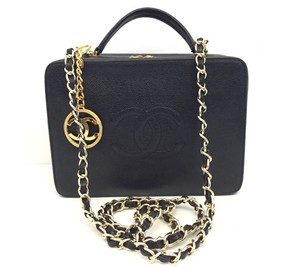 Chanel Vintage Caviar Cross Body Bag