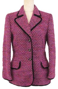 Escada Tweed Pink Jacket