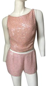 Escada short dress Pink Beaded Nwt on Tradesy