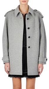 Isabel Marant Wool Blend Contemporary Gray Pea Coat