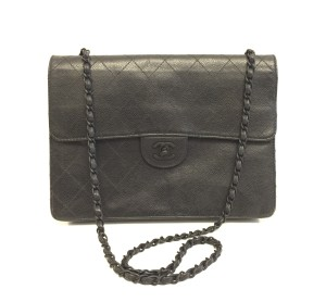 Chanel Caviar Matte Shoulder Bag