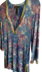 INC International Concepts Silver Purple Tunic