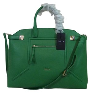 Furla Satchel in Green