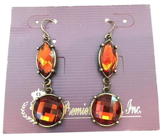 Preload https://img-static.tradesy.com/item/19411854/premier-designs-orange-drop-earrings-0-1-540-540.jpg