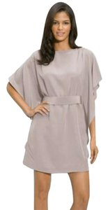 Suzi Chin for Maggy Boutique Flowy Classic Champagne Dress