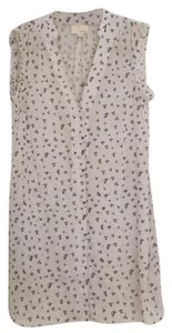 Band of Outsiders short dress White blue on Tradesy