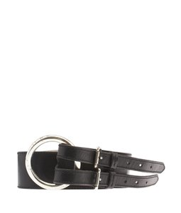 Ralph Lauren Lauren by Ralph Lauren Black Leather Belt, Size XL (100028)