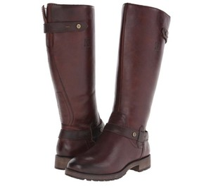Naturalizer Wide Width Leather Brown Boots