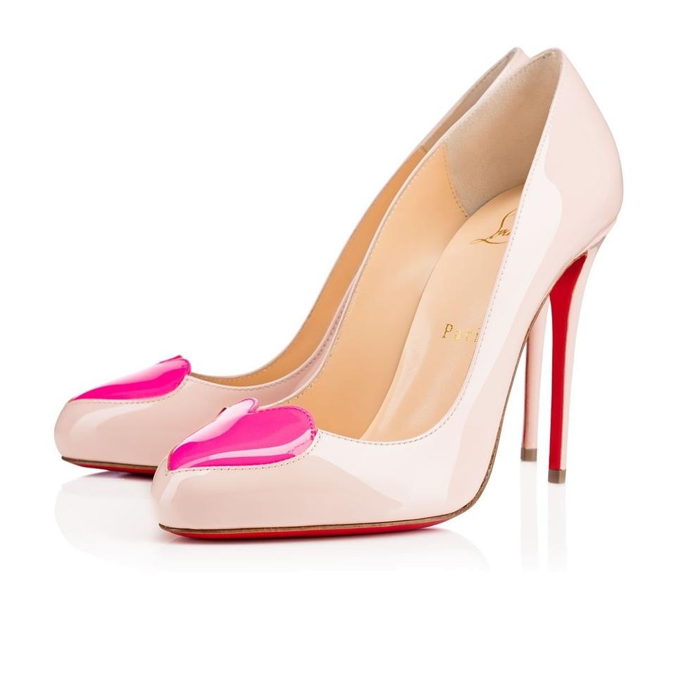 Christian Louboutin Nude Classic Patent Leather Pigalle