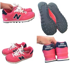 New Balance Pink/navy Athletic