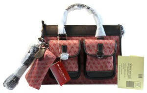Dooney & Bourke Tote in Red, Brown