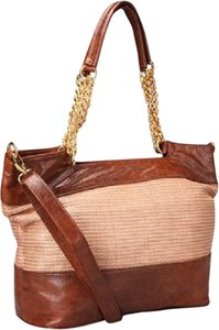 Elise Hope Satchel in Brown