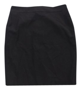 Ann Taylor Knee Lenght Skirt Black