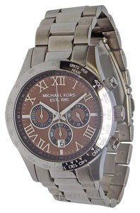 Michael Kors BRAND NEW MENS MICHAEL KORS (MK8213) LAYTON CHRONO SILVER TONE WATCH