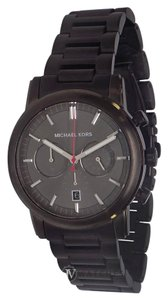 Michael Kors BRAND NEW MENS MICHAEL KORS (MK8371) BLACK PENNANT CHRONO WATCH