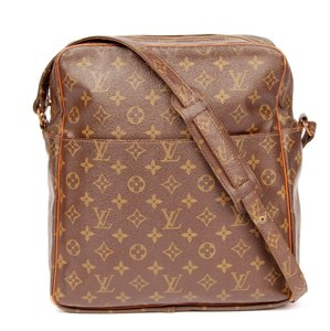 Louis Vuitton Canvas Monogram Messenger Bag
