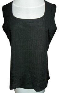 dressbarn Dressy Made In Usa Stretchy Top Black