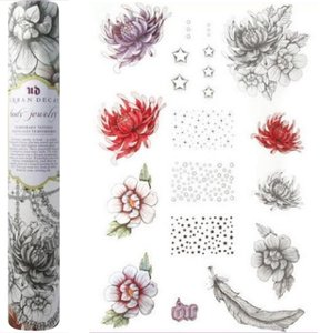 Urban Decay Body Jewelry Temporary Tattoos (3 Full Sheets) Jewelry~Flowers & More!
