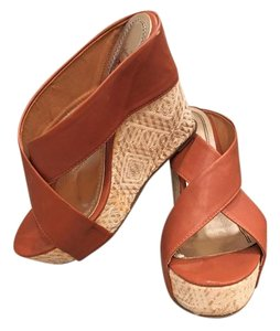 Brown/Tan Wedges