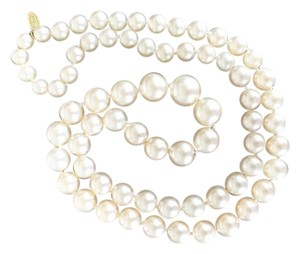 Chanel Chanel Long Prarl Necklace