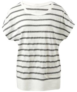 CAbi Linen Striped T Shirt
