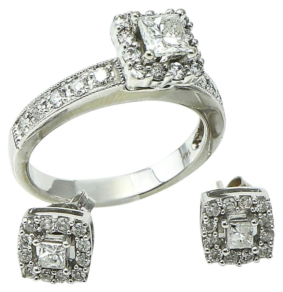 Other Diamonds Ring And Earring Set