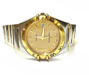 Omega OMEGA Constellation Stainless Steel & Gold Tone Dial Quartz Movement. Comes With A Gift!!!