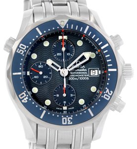 Omega Omega Seamaster James Bond Steel Chrono Diver Watch 2599.80.00