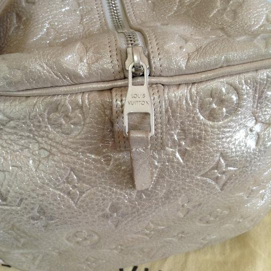 Louis Vuitton Satchel in Silver