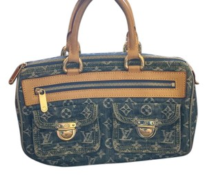 Louis Vuitton Neo Speedy Satchel in Blue