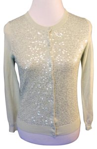 Talbots Cardigan Sequin Silk Casual Sweatshirt