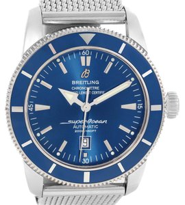Breitling Breitling Superocean Heritage 42 Blue Dial Mesh Bracelet Watch A17320
