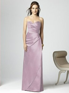 Dessy Suede Rose Matte Satin 2851 Bridesmaid/Mob Dress Size 12 (L)