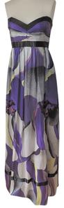 purple black gray Maxi Dress by Laundry by Design