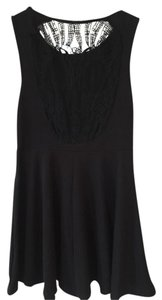 LF Skull Lace Fit And Flare Dress