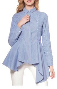 Gracia Button Down Button Down Shirt Blue