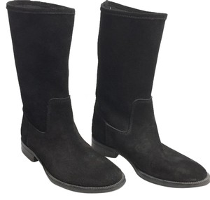 Pedro Garcia Size 7 Leather Suede Black Boots