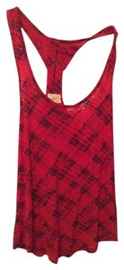 Eyelash Couture Casual Night Out Top red and black