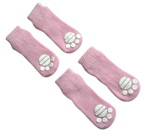 Traction Control Dog Socks, Set of 4