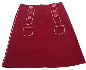 Marc Jacobs Skirt Burgundy