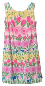 Lilly Pulitzer short dress Pink, grreen, blue, yellow, purple, white and peach on Tradesy