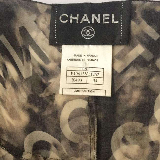 coco brown and beige multi Maxi Dress by Chanel