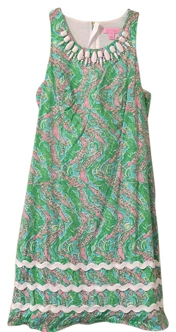 Preload https://img-static.tradesy.com/item/19414064/lilly-pulitzer-green-white-pink-and-yellow-pearl-55515-above-knee-short-casual-dress-size-0-xs-0-1-650-650.jpg
