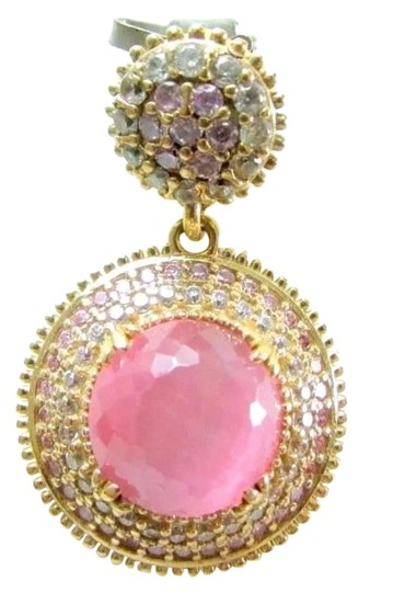 Preload https://img-static.tradesy.com/item/19414171/pink-new-cat-eye-chalcedony-925-silver-pendant-necklace-0-1-540-540.jpg